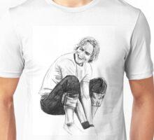Heath Ledger Drawing Unisex T-Shirt