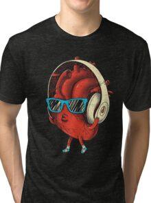 HEART BEAT Tri-blend T-Shirt