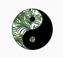 Green Leaf Yin Yang Unisex T-Shirt