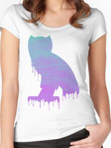 vapOVOrwave Women's Fitted Scoop T-Shirt