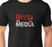 Bern The Media - Bernie Sanders (Grey) Unisex T-Shirt