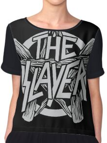 The Slayer Chiffon Top