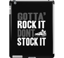 Gotta Rock It - Cement 4 iPad Case/Skin