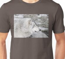 Timber Wolf Profile Unisex T-Shirt