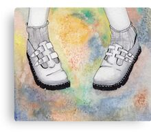 Mary Jane Doc Martens Canvas Print