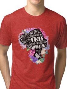 Jane Eyre - No Bird Tri-blend T-Shirt