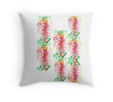 Bottlebrush by Mary Throw Pillow