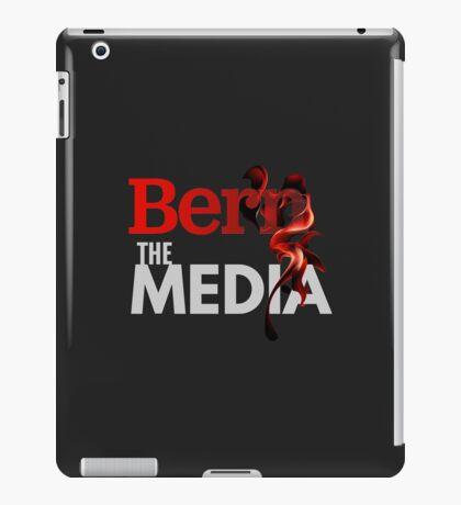 Bern The Media - Bernie Sanders (Grey) iPad Case/Skin