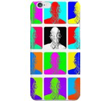 Doctor Who - Andy Warhol (Ood) iPhone Case/Skin