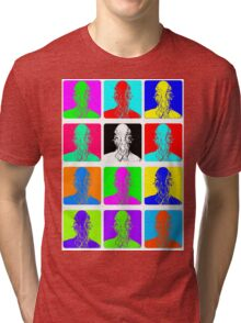 Doctor Who - Andy Warhol (Ood) Tri-blend T-Shirt