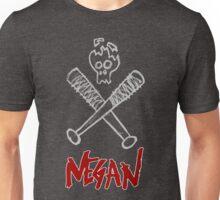 Negan - Cracked Skull and Crossed Bats Unisex T-Shirt