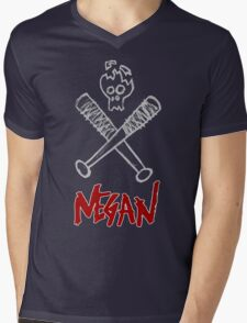 Negan - Cracked Skull and Crossed Bats T-Shirt
