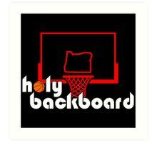 Holy Backboard Podcast Art Print