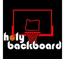 Holy Backboard Podcast Photographic Print