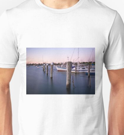 Sandringham yacht squadron at dusk  Unisex T-Shirt