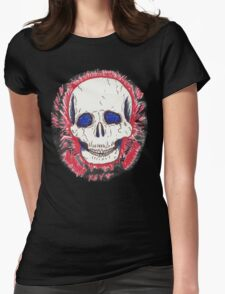 Red Skull Womens Fitted T-Shirt