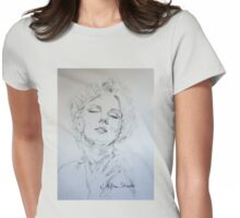 Marilyn, Feelings Womens Fitted T-Shirt
