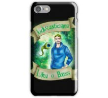 Jacksepticeye - Like a BOSS! iPhone Case/Skin