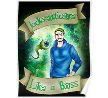 Jacksepticeye - Like a BOSS! Poster