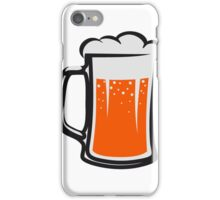 drinking beer booze handle iPhone Case/Skin
