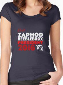 Zaphod Beeblebrox 2016 Women's Fitted Scoop T-Shirt