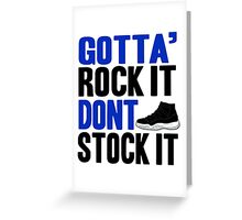 Gotta Rock It - Space Jam 11 Greeting Card