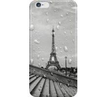 B&W Paris under Rain iPhone Case/Skin