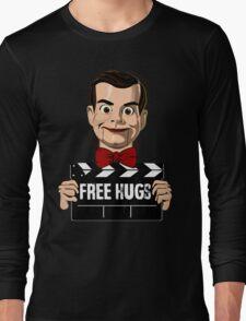 slappy free hugs Long Sleeve T-Shirt
