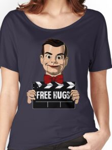 slappy free hugs Women's Relaxed Fit T-Shirt