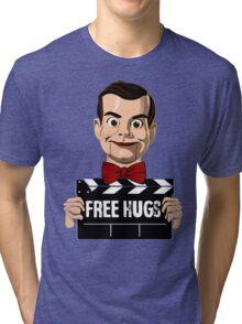 slappy free hugs Tri-blend T-Shirt