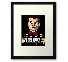 slappy free hugs Framed Print