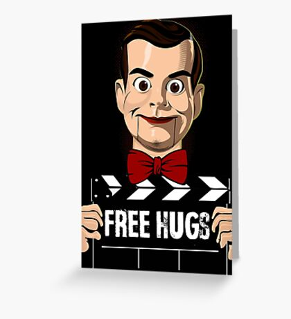 slappy free hugs Greeting Card
