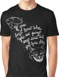 Cheshire Quote Graphic T-Shirt