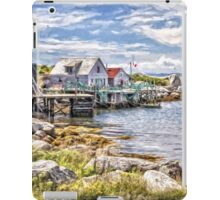 Indian Harbour - painted iPad Case/Skin