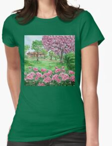 Peonies Season  Womens Fitted T-Shirt