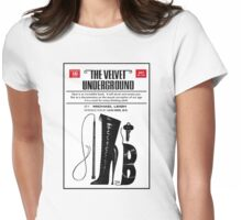The Velvet Underground Poster Womens Fitted T-Shirt