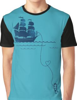 Long Distance Love Graphic T-Shirt