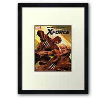 Tooth and Claw Framed Print
