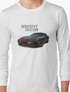 knight rider black car Long Sleeve T-Shirt