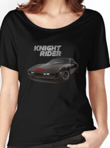 knight rider black car Women's Relaxed Fit T-Shirt