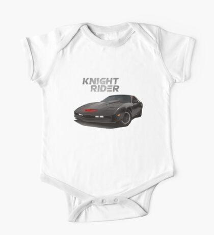 knight rider black car One Piece - Short Sleeve