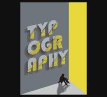 Typography Baby Tee