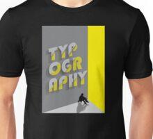 Typography Unisex T-Shirt