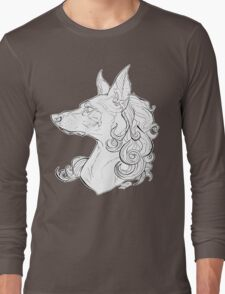 Dog Girl Long Sleeve T-Shirt