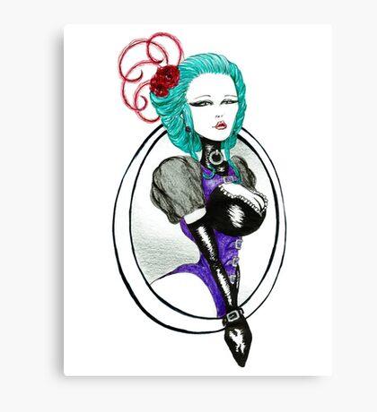 Posture Canvas Print
