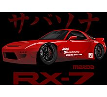 mazda RX-7 performance Photographic Print