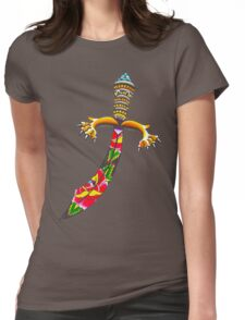 Rose Dagger Womens Fitted T-Shirt