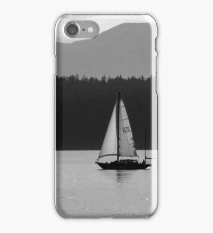 Alone Upon the Water iPhone Case/Skin