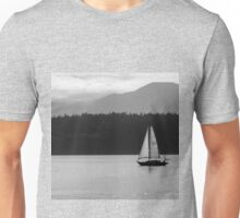 Alone Upon the Water Unisex T-Shirt