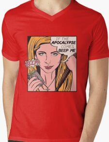 Pop Art Slayer Mens V-Neck T-Shirt